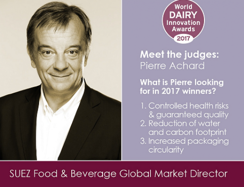 SUEZ's Pierre Achard joins the 2017 World Dairy Innovation Awards judging panel